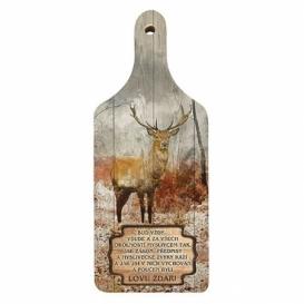 Bohemia Gifts - dekorační kuchyňské prkénko pro myslivce
