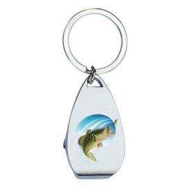 Bohemia Gifts - klíčenka s otvírákem pro rybáře - ryba