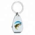 Bohemia Darčeky - keychain s otvárač pre rybárov - ryby