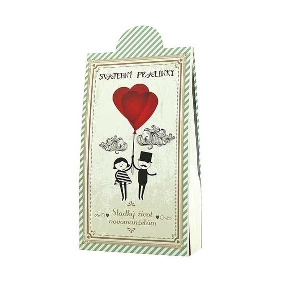 Bohemia Gifts - svatební čokoládové pralinky 95 g