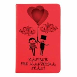 Bohemia Gifts - svatební zápisník pro manželská přání