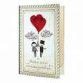 Bohemia Gifts - dárkové balení kosmetiky - svatební kniha - 2x sprchový gel