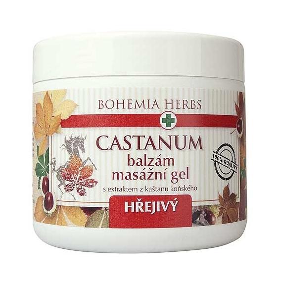 Bohemia Herbs - balzám - koňský kaštan 600 ml - masážní gel hřejivý