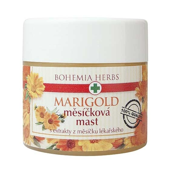 Bohemia Bylinky - nechtíková masť 120 ml - s výťažkami z nechtíka lekárskeho