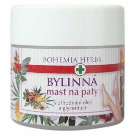Bohemia, Byliny, bylinné masti na päty 120 ml - s prírodnými olejmi a glycerol