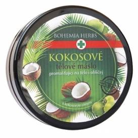 Bohemia Herbs - kosmetika kokos - kokosové tělové máslo 200 ml - s kokosovým olejem