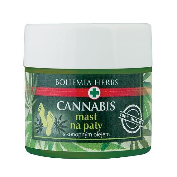 Bohemia Bylinky - kanabis, masť na päty 120 ml