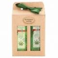 Konopná kosmetika - dárkové balení - sprchový gel a vlasový šampon