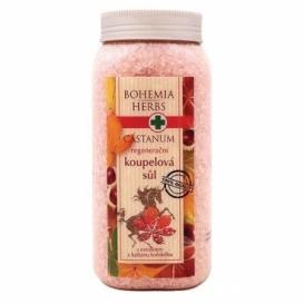 Bohemia Herbs - Castanum koupelová sůl 900 g - s koňským kaštanem