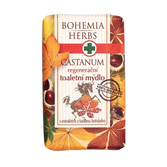 Bohemia Herbs - Castanum toaletní mýdlo 100 g - s koňským kaštanem