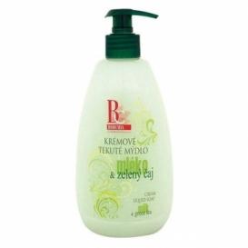 Bohemia Cosmetics - krémové tekuté mýdlo 500 ml - mléko a zelený čaj
