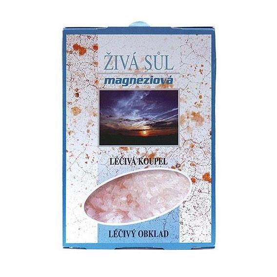 Bohemia Kozmetika - horčík kúpeľové soli 2x250 g