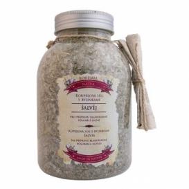 Kúpeľová soľ s bylinkami so šalviou 1200 g