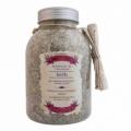 Bohemia Natur - koupelová sůl s bylinkami 1200 g v dóze - povzbuzující se šalvějí