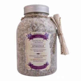 Bohemia Natur - koupelová sůl s bylinkami 1200 g - uklidňující s levandulí