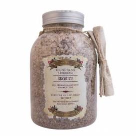 Kúpeľová soľ s bylinkami so škoricou a agátom 1200 g