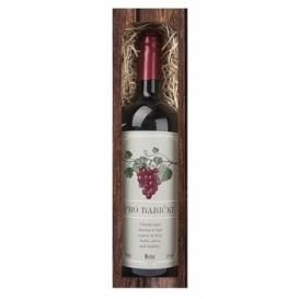 Bohemia Darov - dar-červené víno, 0.75 l - moja babička Merlot