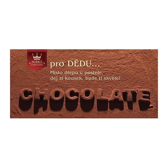Bohemia Darov - dar horkej čokolády 100 g - dedo