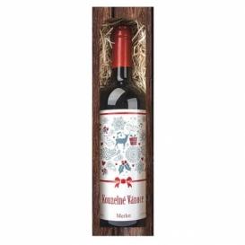 Bohemia Gifts - vianočné víno, 0.75 l - čarovné Vianoce (Merlot)