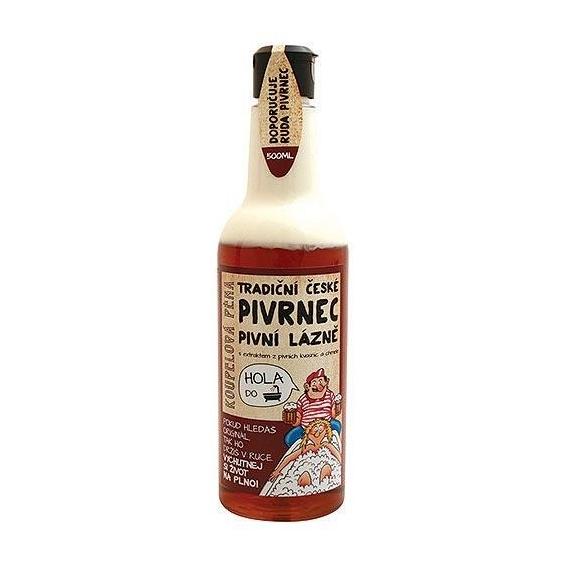 Pivrnec dvojzložková pena s extraktmi z pivných kvasníc a chmeľu - tmavá 500 ml