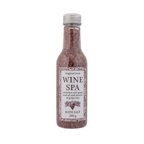 Wine Spa koupelová sůl 260 g - vinná réva