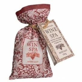 Wine Spa soľ do kúpeľa, 150 g v sáčku - vinič