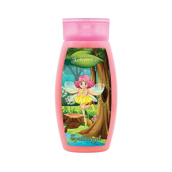 Bohemia Gifts - Víla Johanka - dětský sprchový gel 250 ml - jahoda