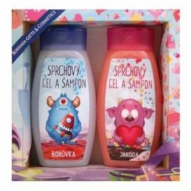 Bohemia Gifts - Příšerky - dětská kosmetika - 2x dětský sprchový gel a šampon