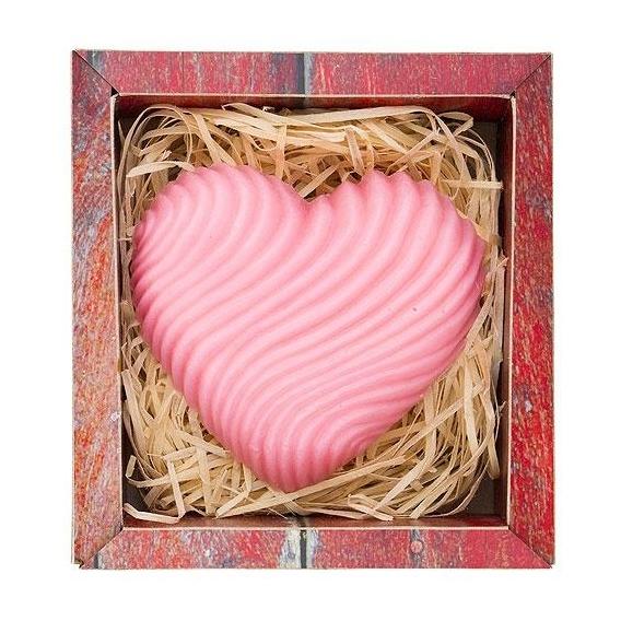 Bohemia Gifts - ručně vyráběné mýdlo 120 g - srdce