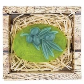 Bohemia Darčeky - ručne vyrábané mydlo 90 g - oliva