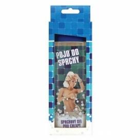 Bohemia Darčeky - prísť o v sprche - darček sprchovací gél 300 ml - 3D pre mužov v krabici - modrá