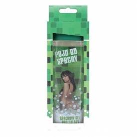 Bohemia Gifts - pojď do sprchy - dárkový sprchový gel 300 ml - 3D pro chlapy v krabičce - zelený