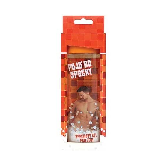 Bohemia Darčeky - prísť o v sprche - darček sprchovací gél 300 ml - 3D pre ženu v krabici - orange