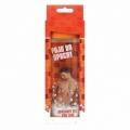 Bohemia Gifts - pojď do sprchy - dárkový sprchový gel 300 ml - 3D pro ženu v krabičce - oranžový