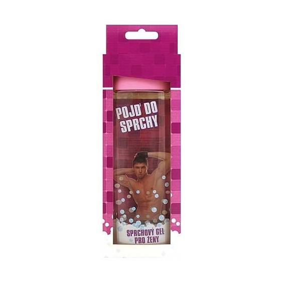 Bohemia Darčeky - prísť o v sprche - darček sprchovací gél 300 ml - 3D pre ženu v krabici - ružová