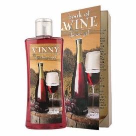 Bohemia Darčeky - darček sprchovací gél 250 ml - knihy vína