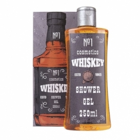 Bohemia Gifts - dárkový sprchový gel 250 ml v krabičce - whiskey