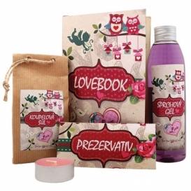 Bohemia Gifts - lovebook - dárková kniha pro zamilované - kosmetika