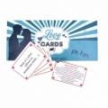 Bohemia Darčeky - Láska karty, karty želanie pre pánov