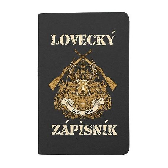 Lovecký zápisník pre poľovníkov - čierny (verzia v SK)