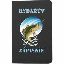 Rybársky zápisník pre rybárov - čierny (verzia v SK)