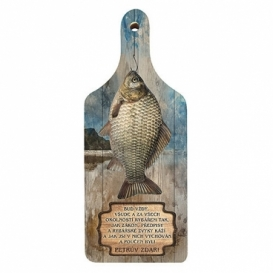 Bohemia Dary - dekoračné kuchynské rezanie rada pre rybárov