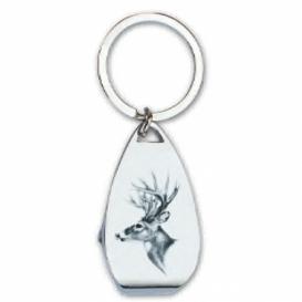 Kľúčenka s otváračom pre poľovníkov - Jeleň