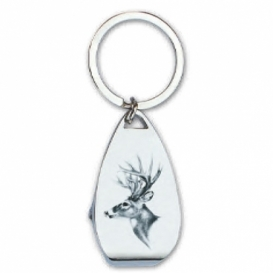 Bohemia Gifts - klíčenka s otvírákem pro myslivce - jelen
