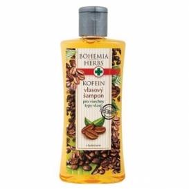 Vlasový šampón s kofeínom a olivovým olejom 250 ml
