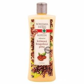 Bohemia Herbs - krémová koupelová pěna 500 ml s kofeinem