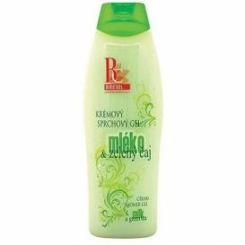 Bohemia Kozmetika - krémový sprchový gél 500 ml, - mlieko a zelený čaj
