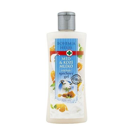 Sprchový gél s extraktmi z medu a kozieho mlieka 250 ml