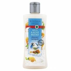 Bohemia Herbs - vlasový šampon 250 ml s extrakty z medu a kozího mléka