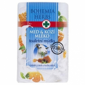 Toaletné mydlo s extraktmi z medu a kozieho mlieka 100 g